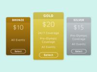 Daily UI #030— Pricing
