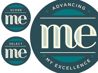 Me badge buttom teacher me score select
