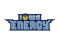 Iowa Energy Logo Type (Unused)