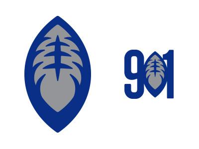 901 Football logo sports tigers uofm memphis football