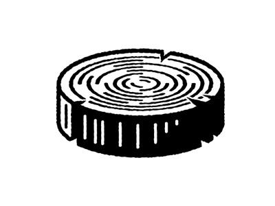 Log log logo wood