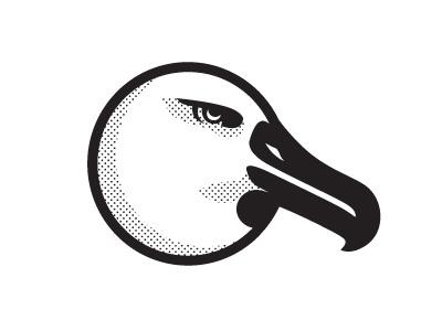 Albatross logo albatross bird illustration