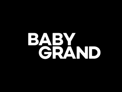 Baby Grand branding experience design memphis workmark baby grand logo