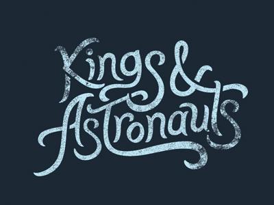 Kings & Astronauts type logo film documentary kings astronauts