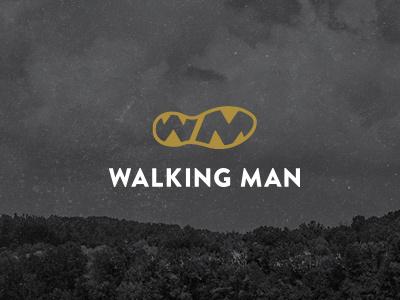 Walking Man logo film