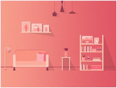 DREAM design plate sketch ps photoshop home dusk 设计 illustrator 插画