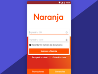 Android login redesign