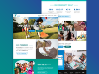 Web design for nonprofit