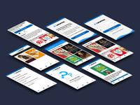 App Redesign | Leamos
