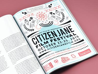Film festival print ad