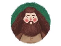 Hagrid fanart