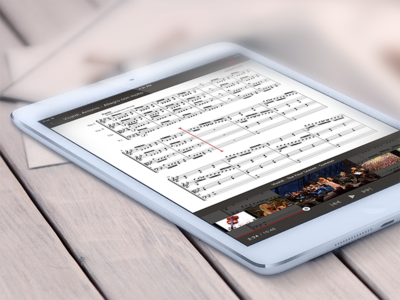 Scores Classical Music finder application