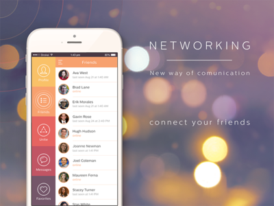 Networking concept app