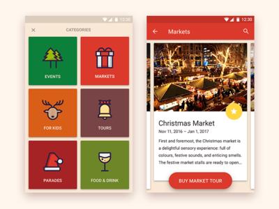 Christmas Event app
