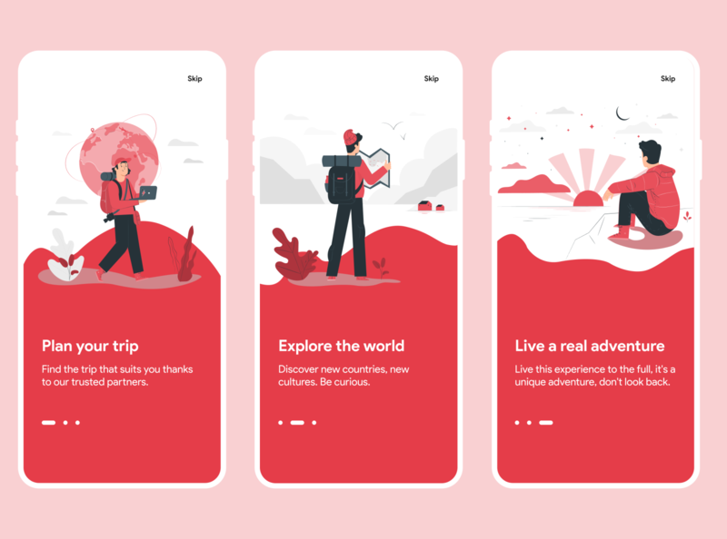 Daily UI  #23 - Onboarding