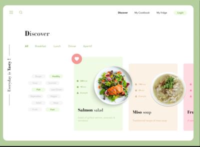 Cooking Food Website