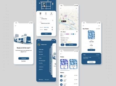 Public Transport Tracker app