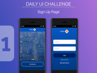 Daily UI Challenge - Sign Up