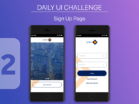 Daily UI Challenge - Sign Up 2