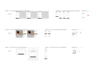 Cart & Checkout Wireframe options for Bark