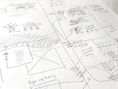 New fun projects kicking off next week! product design ui wireframes sketches