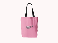 Millennial pink tote