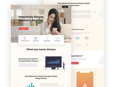 Alpha Bank - Website typography interaction design website web branding flat ux minimal ui design