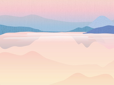 Skyscape Wallpaper 2 design digital scene pastel color gradient landscape illustration vector wallpaper