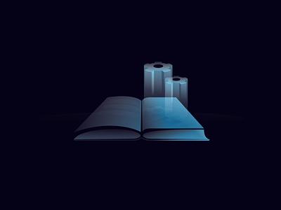 Set up book branding design vector logodesign illustration art illustration