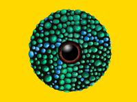 Chemeleon Textured Sphere