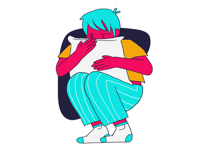 Bad dream freelance editorial illustration draw ilustración illustration