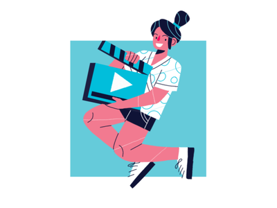 Videomarketing freelance editorial illustration web illustration video illustration