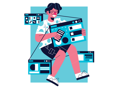 web development and design ilustración freelance editorial illustration web illustration illustration