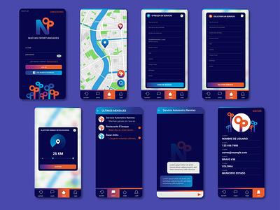 UX, UI DESIGN: NOP app design user interface ui design user experience mobile design ux ui