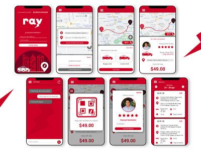UX, UI DESIGN: RAY app mobile ux design ui design user interface user experience ux ui