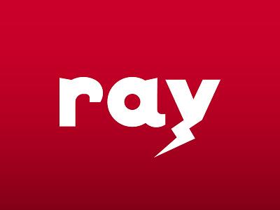 LOGO DESIGN: RAY freelance graphic design branding logo