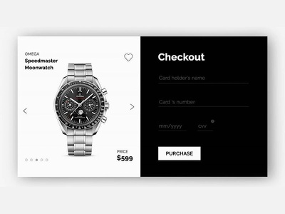 ui and ux checkout watch  screen evenflowstudio ui design agencja brandingowa 2020 trend branding agency watch checkout page screen uiux studio reklamy poznań