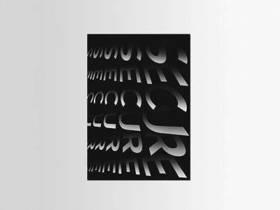 Poster Secure agencja reklamy poznan creative typeface typographic typography art poster art trend 2020 poster typography poster desginer
