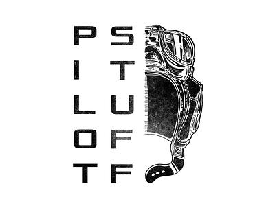 Pilot Stuff logo design logo designer branding poznań logo illustration studio agency logodesign