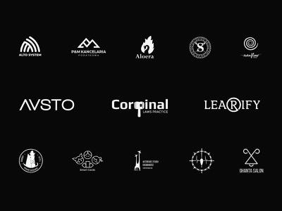 Logofolio 2019-20 logodesigner logo agency simple type logomark letters brand logo logotype logofolio