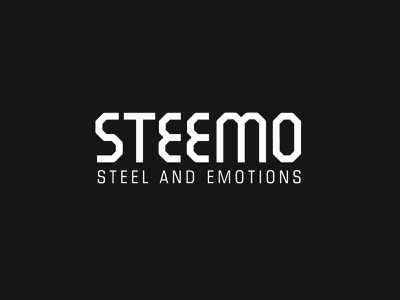 Steemo logo graphic design typography type logodesign logotype