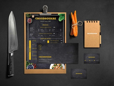 Restaurant Branding graphic  design brand menu card flyer design business card illlustration design redesign branding design restaurant design