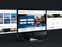 Travel website ui&ux