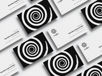 Business cards of EvenFlow studio