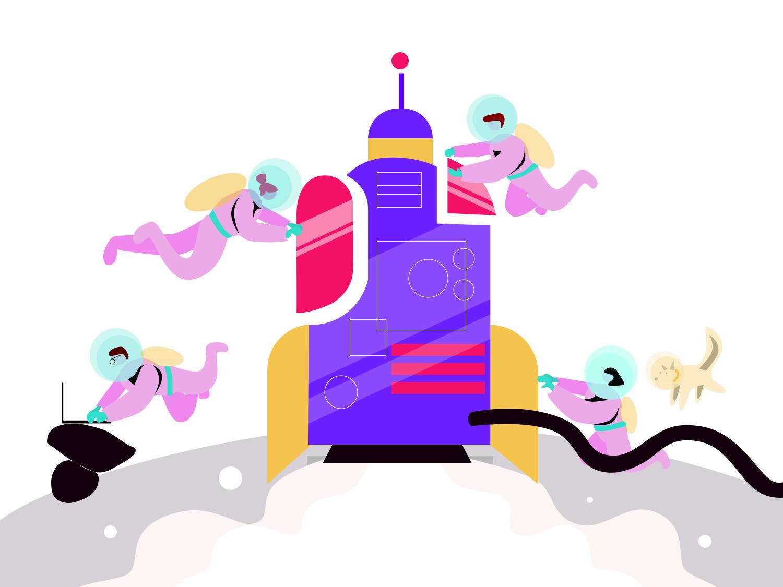 Illustration for ColorBlast Films