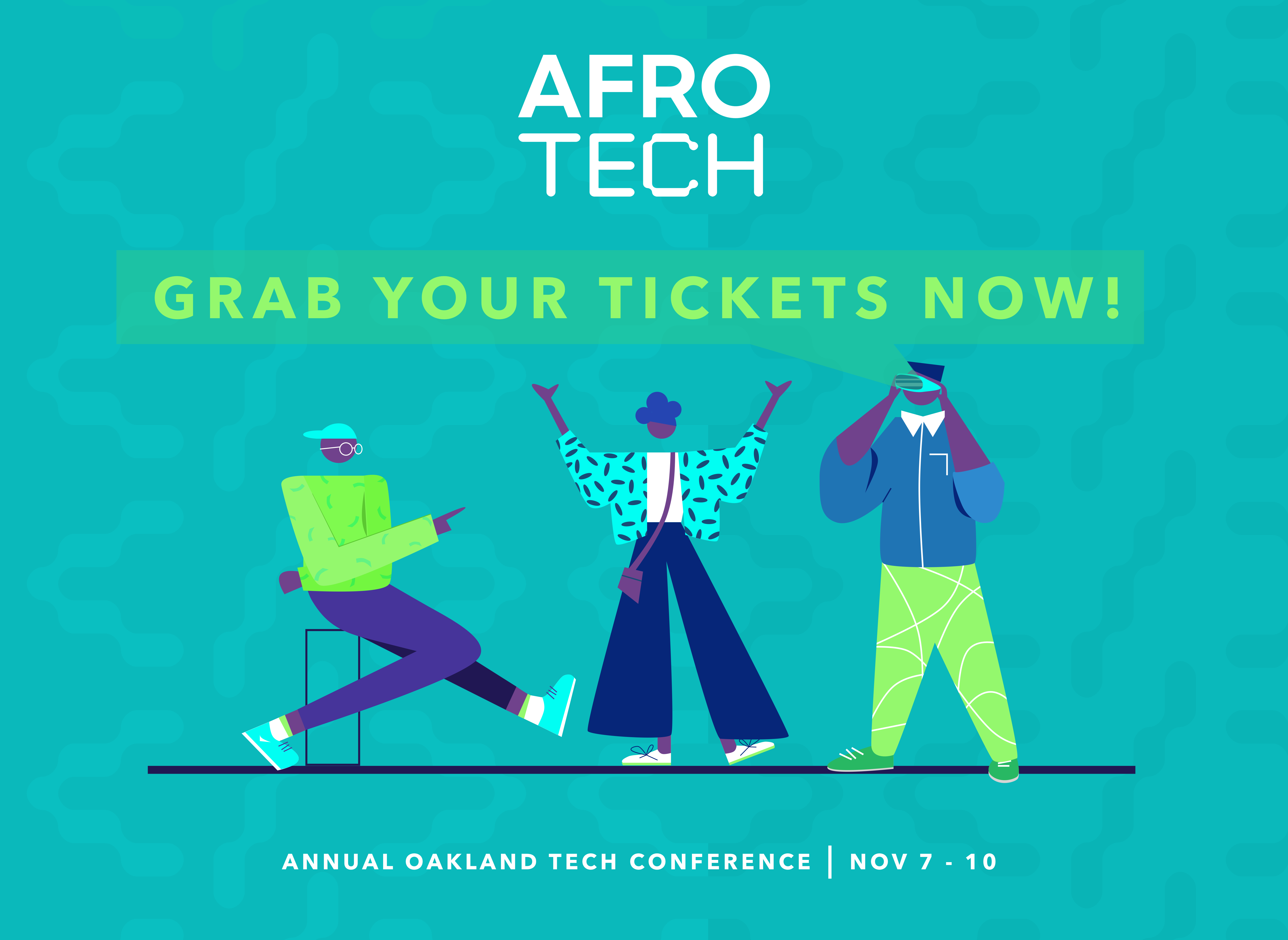 Social Media Assets for AfroTech Conference 2019 @ Blavity Inc