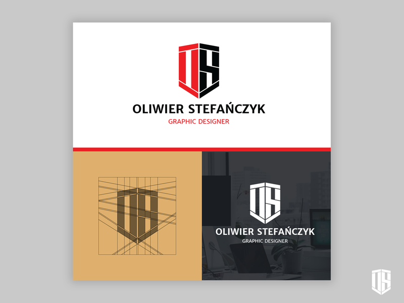 "Logo for Me ""Oliwier Stefańczyk Graphic Designer"""