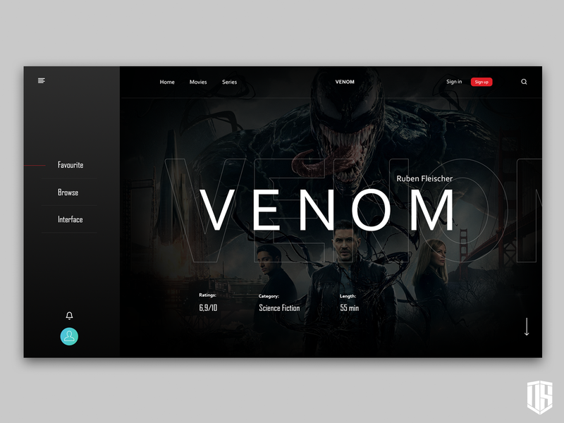 """Venom"" page"