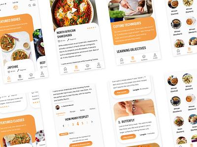 Culture Cook App food and drink food app food app design ui