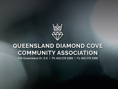 Queensland Diamond Cove Community Association website web design flat minimal logo icon vector web design branding